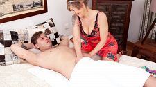 The XXX Adventures of a GILF Masseuse